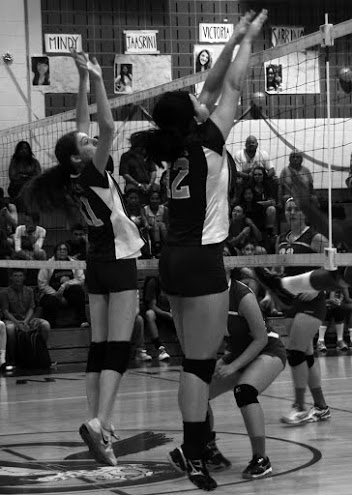 girls volleyball 2014