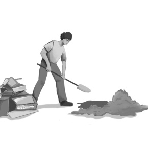 Burying Technology